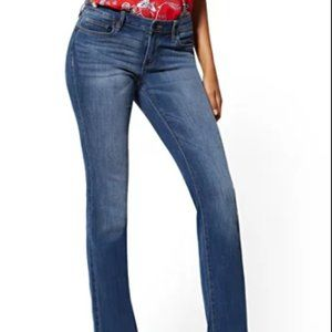 New York & Company Curvy BootCut Jeans